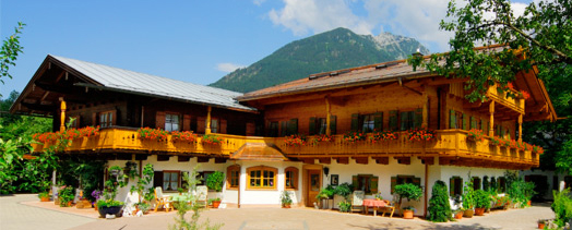 The Guesthouse Pfingstlerlehen in the municipality of Schoenau am Koenigssee