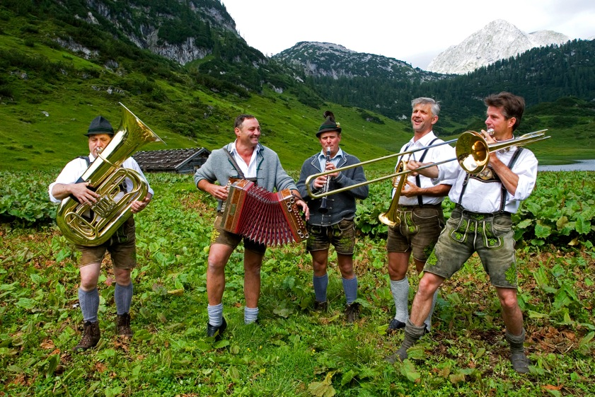 In the area of Berchtesgaden traditions are still alive